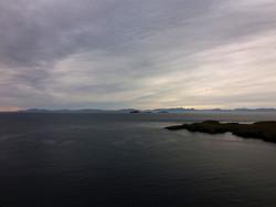 pohled na Vnější Hebridy