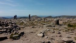 na Ben Macdui, 1309 m