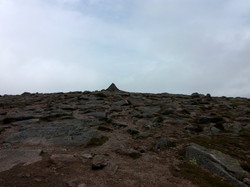 Vrchol Cairn Gorm 1244 m