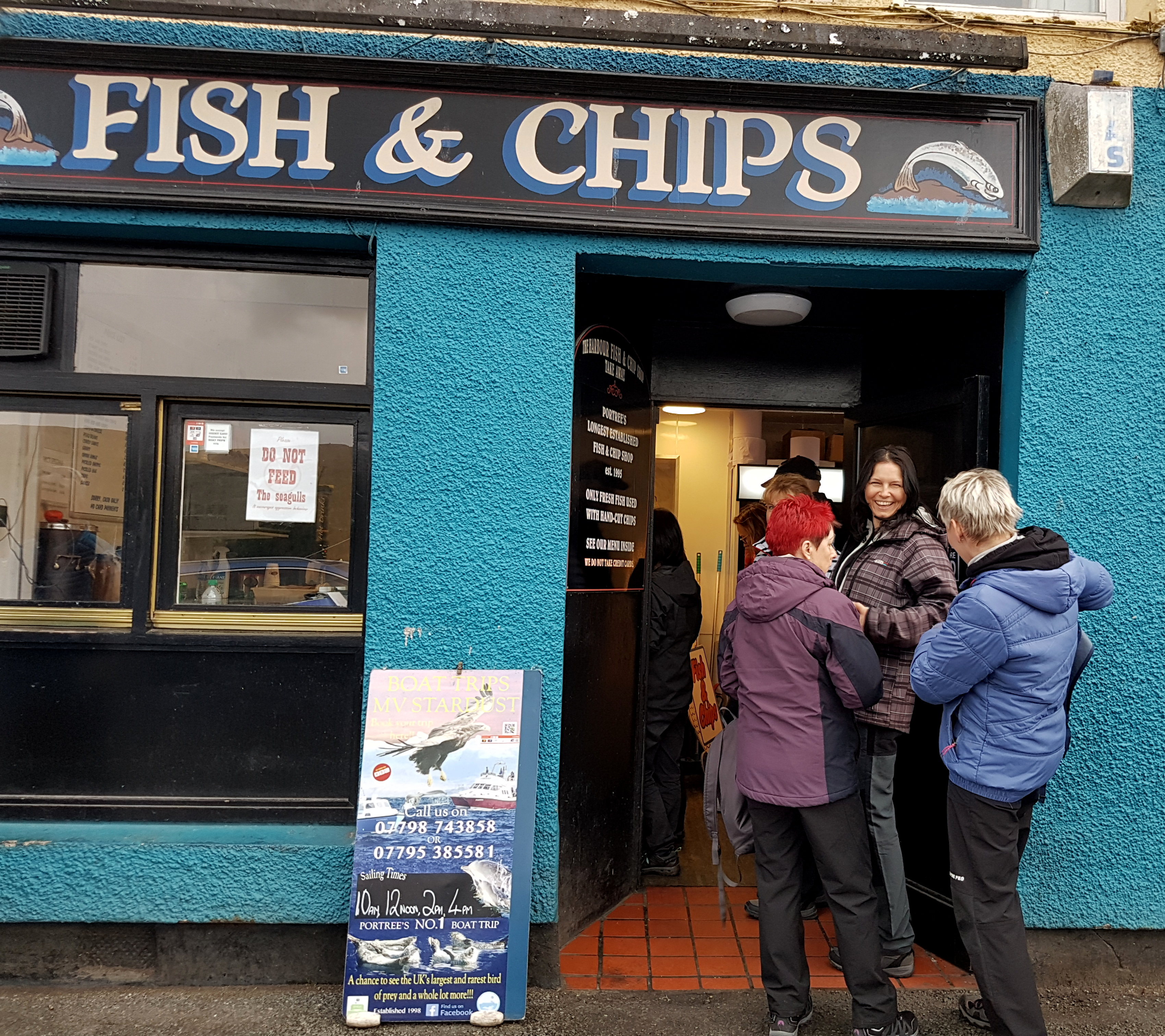 Portree a fish and chips