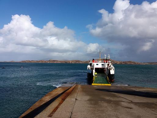 Ostrov Iona, Skotsko