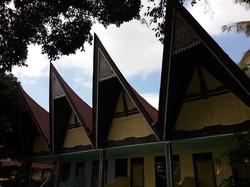 domečky kultury Batak