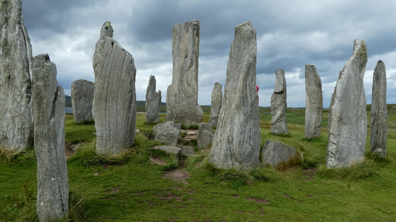 kamenné kruhy Callanish
