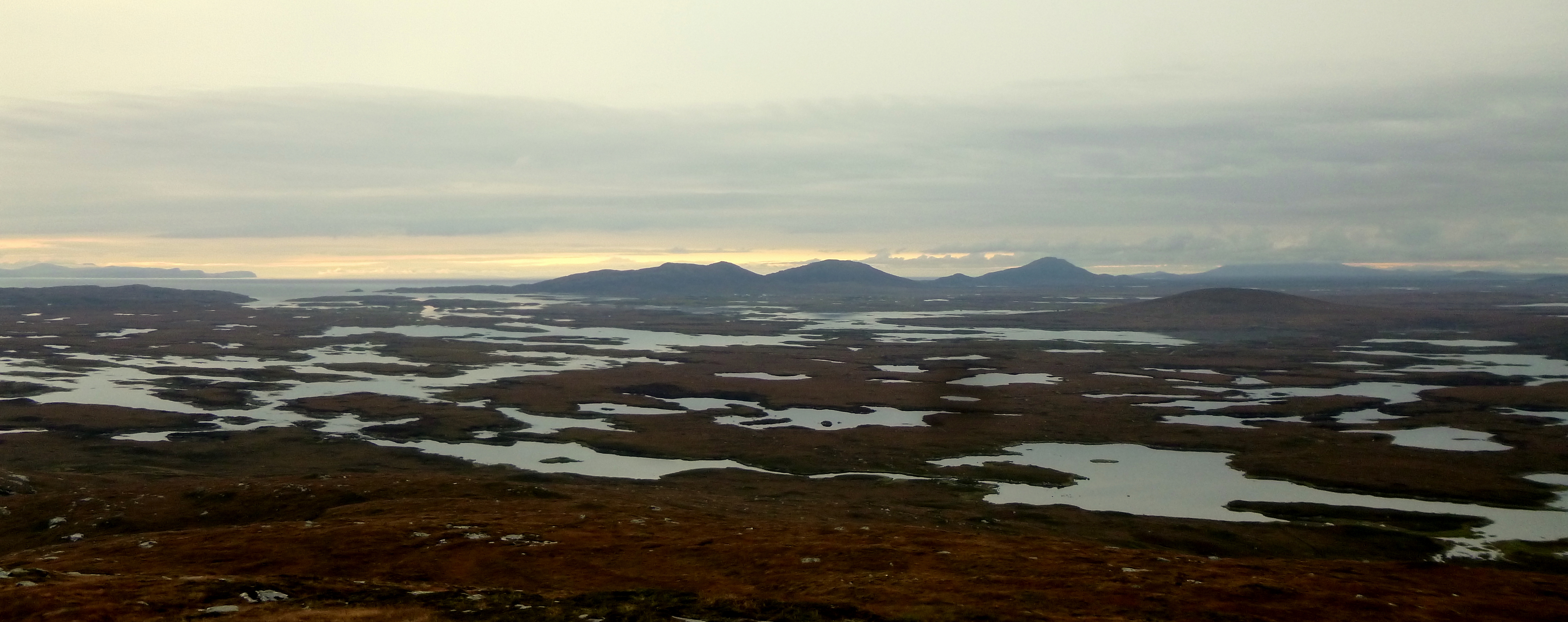 výhled ze Severního Uist