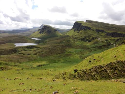 Isle of Skye v červnu 2