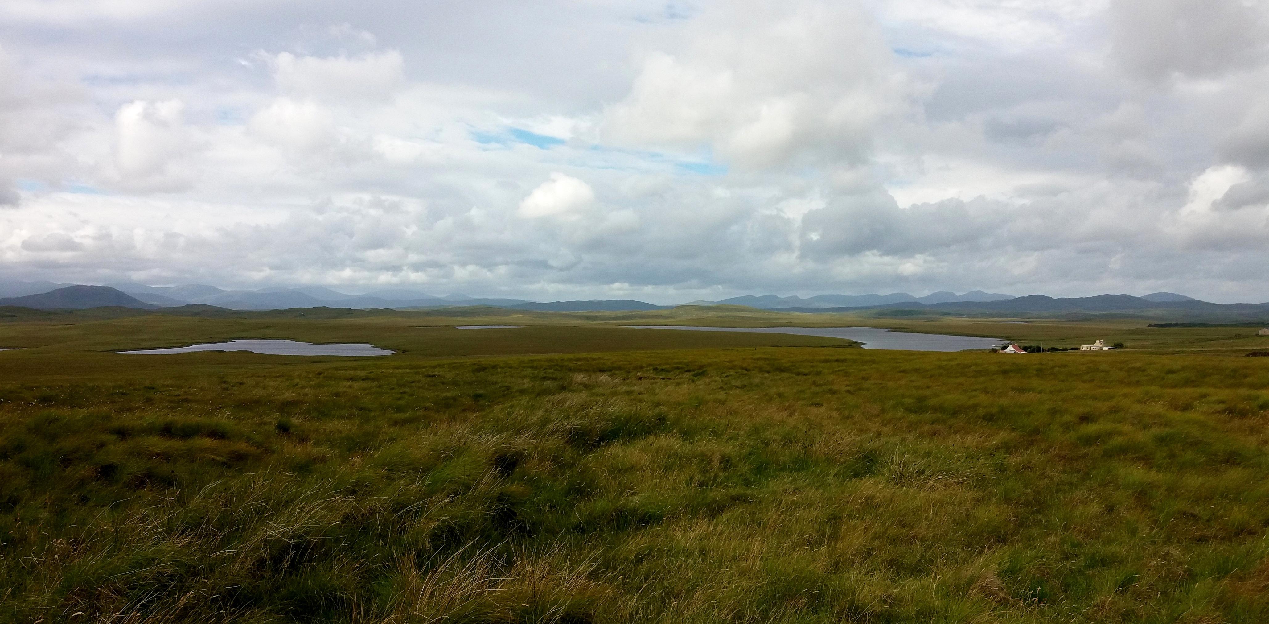 pohled na severní Harris z Lewisu