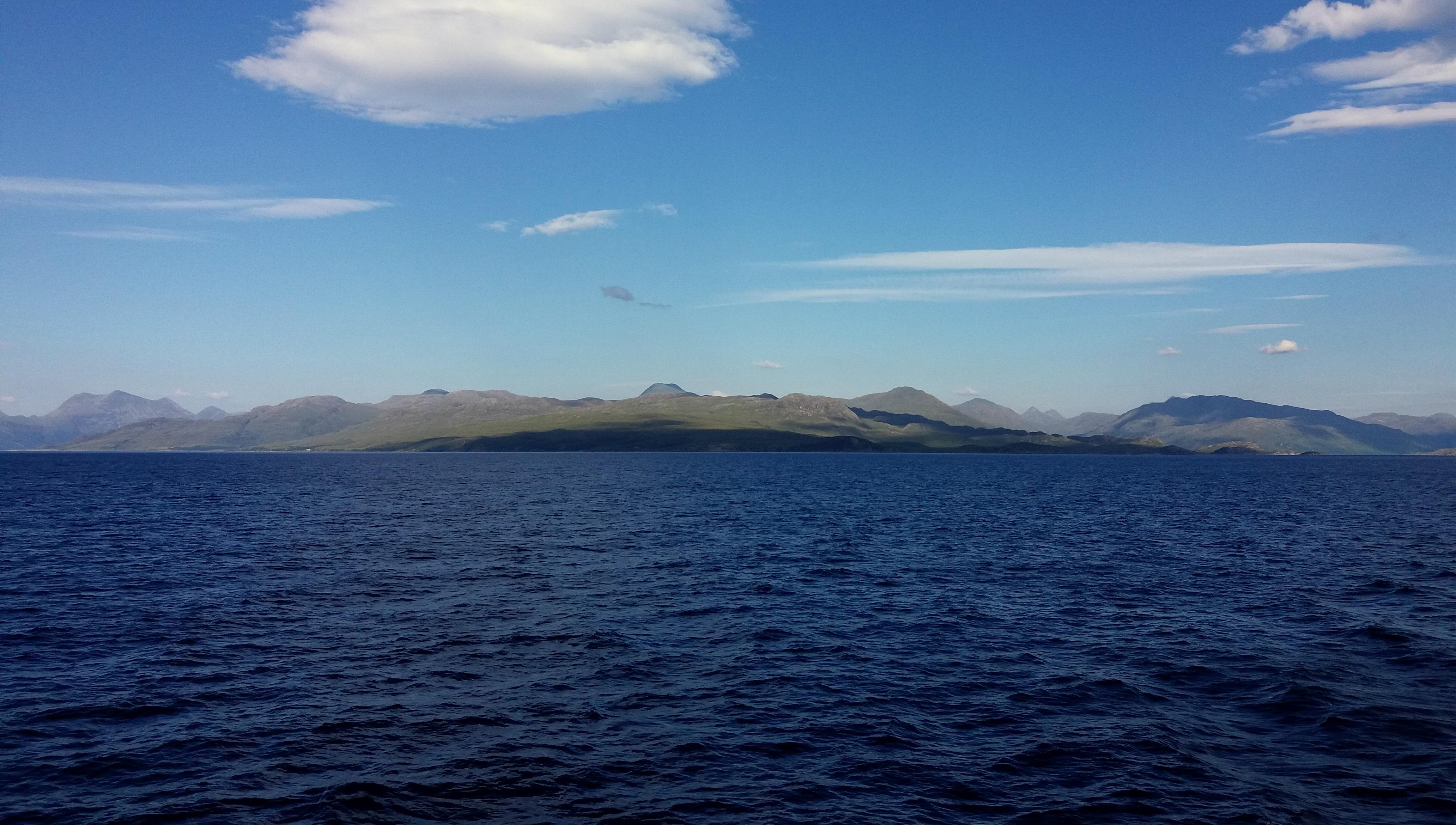 cestou na Isle of Skye