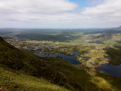 Výhled ze Suilven 731 m