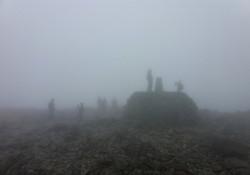 na vrcholu Ben Nevis