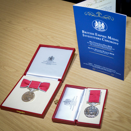 Buckinghamshire Residents receive awards in the Queen's New Year's Honours list