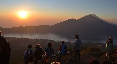 Ascension-mont-batur-Bali-lever-du-solei