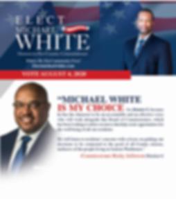 Vote Michael White - Commissioner Jeffer