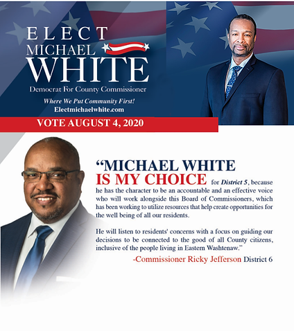 Vote Michael White - Commissioner Jeffer