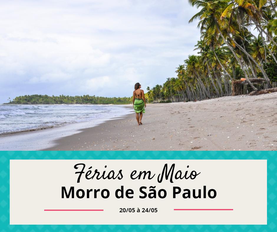 Morro de São Paulo - Maio