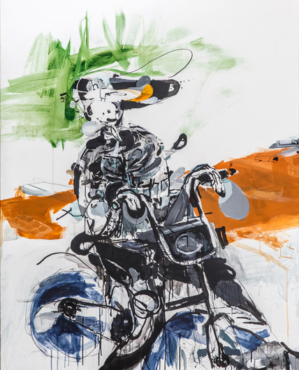 Harley Davidson велосипедист с Баумана