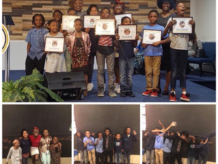 High Calling Kidz did it again!!!!! They were so excited to receive there certificates for completin