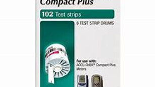 Accu-Chek Compact Plus 102 Count