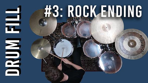 Drum Fill #3: Rock Ending