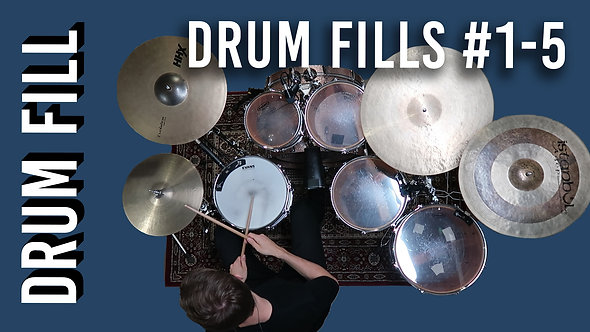 ALL Drum Fills #1-5