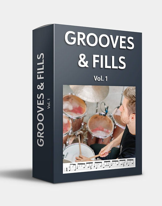 Grooves & Fills Volume 1: PDF + 60 Practice MP3s