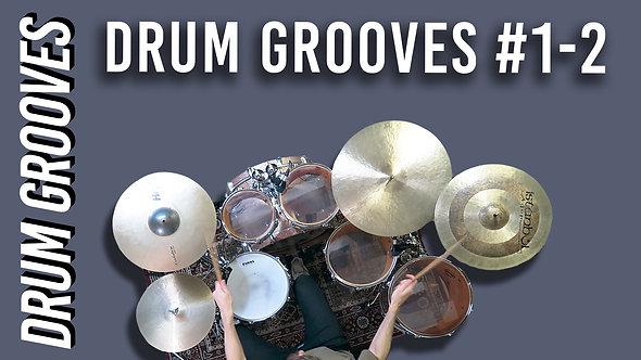 Drum Grooves #1-2