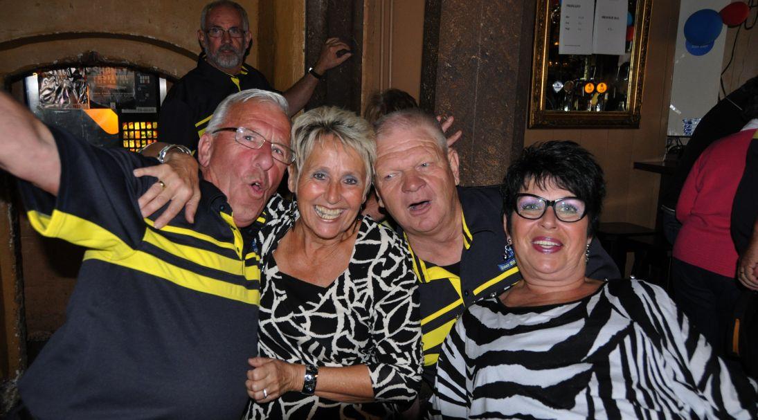 Onze trouwe Rotterdamse fans