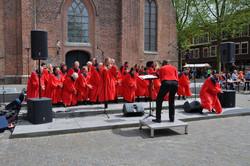 Miracles op Kerkplein op Koningsdag