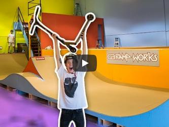 """Tanner Fox """"Skatepark Reveal"""""""