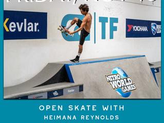 Open Skate - Heimana Reynolds