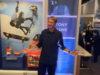 Tony Hawk inducted in Hall of Fame!