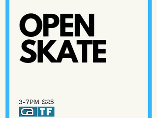 Open Skate: Thursday & Friday