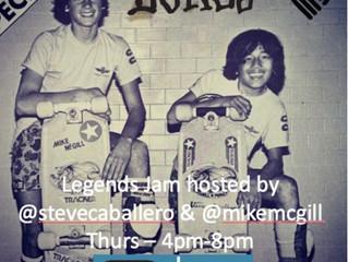 Legends Jam this Thursday!