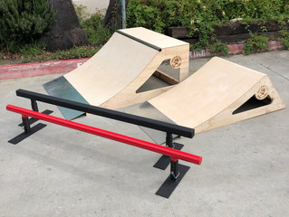 Curbside Pickup: Quarter Pipes, Rails, Launch Ramps