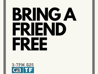 Bring A Friend FREE This Friday