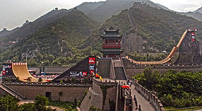 Danny Way Great Wall of China