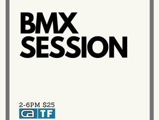 BMX Sessions on Saturday