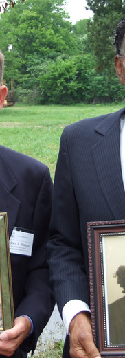 Sidney Braquet, SPSF Executive Director/Counsel & Benjamin Smothers (son of the school's founders), Caney City, Texas 2009