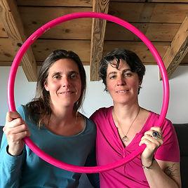 Coraline Bonzon et Séverine Blanchod, Brain Gym et Double Doodle Play