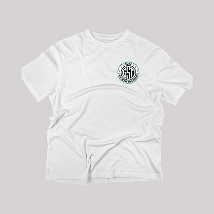 White Goal Soccer Training T-Shirt