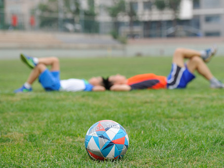 Soccer Players: Sleep is Important