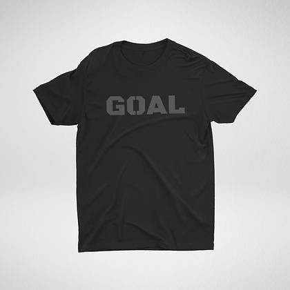 Black/Grey Performance Pique T-Shirt