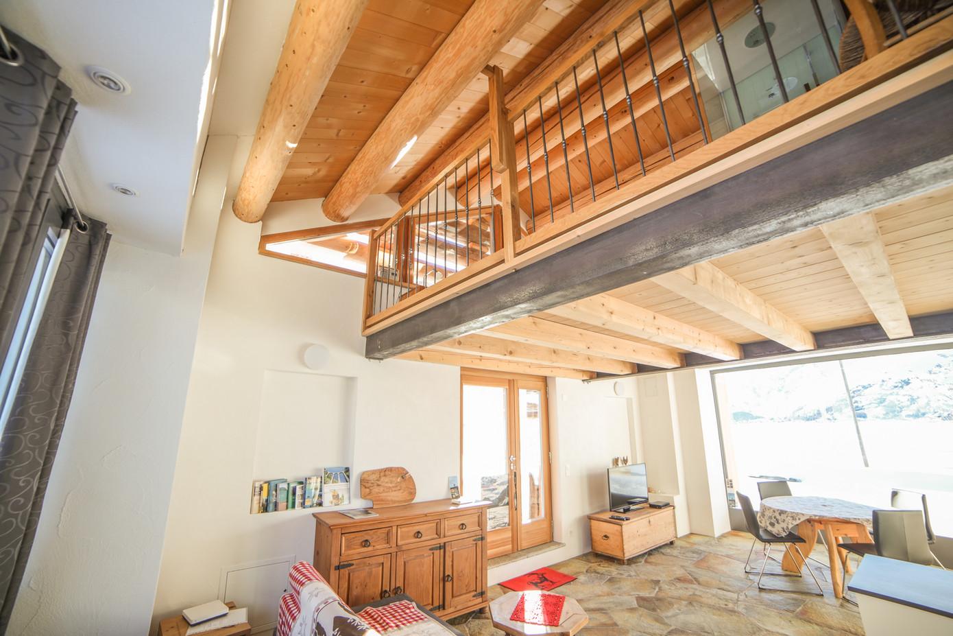 Wohnzimmer 2 Casa bellavista isola Ferie