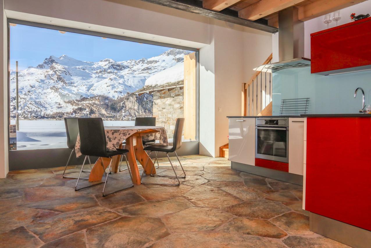 Wohnzimmer mit Aussicht Casa bellavista