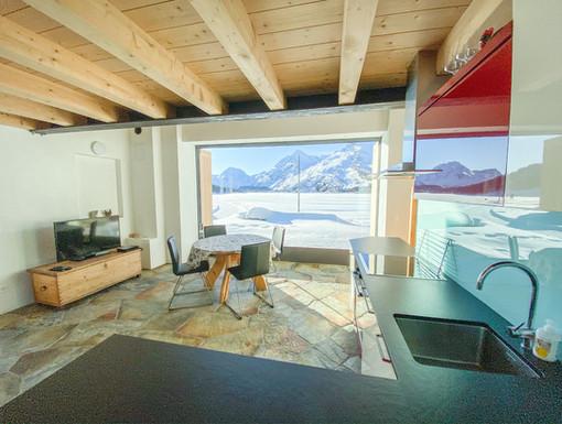 Wohnzimmer 1 Casa bellavista isola Ferie