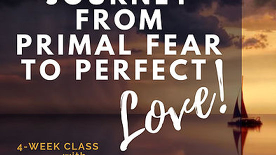 Journey from Primal Fear to Perfect Love