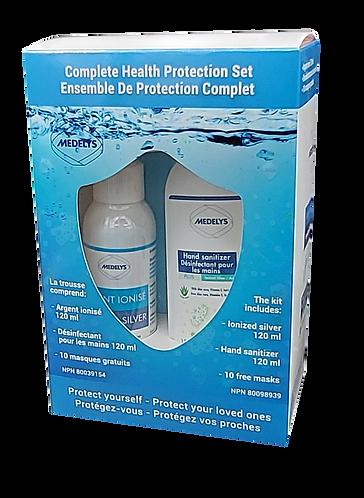 Complete Health Protection Set / Ensemble Complet de Protection de la Santé