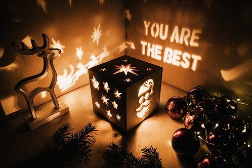 WoodyBox Santa Best