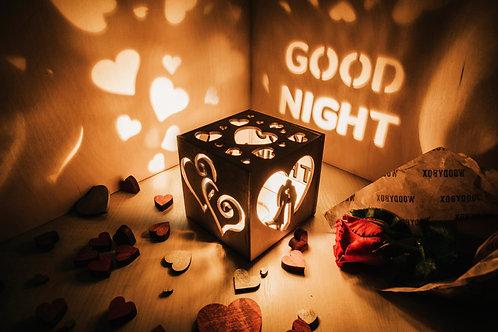 WoodyBox Couple Good Night