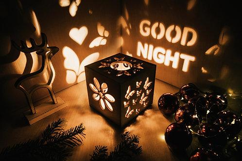 WoodyBox Butterfly Good Night