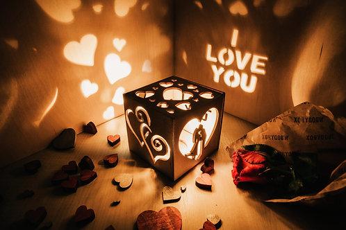 WoodyBox Couple I Love U